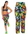 Повседневное эластичные, растягивающие брюки для девочек-женщин-( Йога леггинсы RL156)