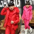 Детский зимний комплект-( костюм-Пуховик) для девочек.