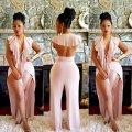 Женская элегантная клубная одежда на шнуровке