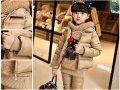 Комплекты одежды для девочек для Украинской зимы.