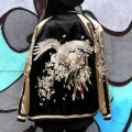 Женская курточка бомбер (цветочный феникс)