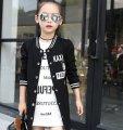 Детская осеняя куртка для девочка в стиле хип-хоп