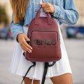 Стильный женский рюкзак KENZO Бордовый