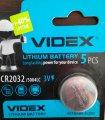 Батарейки Videx CR2032 1 штука