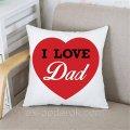 Подушка Папе I Love Dad