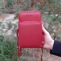 Кошелек - мини сумочка клатч Baellerry Show You Красный