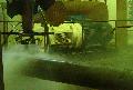 Устаткування водоструминної- водоабразивной очищення труб