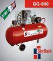 Компрессор поршневой с ременной передачей 270л 380В Skyrack
