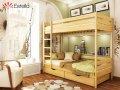 Двухъярусная кровать Дует 80х200 102 Щит 2Л4 90х190