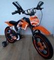 Дитячий велосипед Мотоцикл на 3-6 років Trade. З додатковими коліщатками. 16 дюймів.