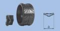 Шины атмосферного давления прикатывающего колеса для сеялок и культиваторов Шинка атмосферного давления 350х164