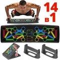 Платформа для отжиманий Iron Gym Push Up Rack Board 14в1 Упор переносной тренажер для упражнений