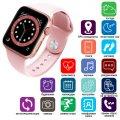 Apl Watch Series 6 M441, 100% Копія 44mm Aluminium, Бездротова Зарядка, Pink