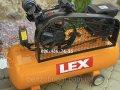 Компрессор воздушный Lex LXC120-2 масляный 120л 710л/мин ременной