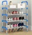 Полка для обуви Shoe Rack (4 полки, 12 пар) | Стойка для хранения обуви