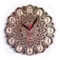 MCLO10012 Деревянные часы Мандала, ~28-30 см