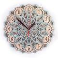 MCLO10016 Деревянные часы Мандала, ~28-30 см