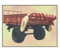 Машина  для транспортирования и сплошного поверхностного внесения (разбрасывания) твердых органических удобрений.