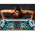 Платформа для отжиманий Iron Gym Push Up Rack Board 14в1 Доска переносной тренажер для упражнений