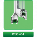 Окна металлопластиковые WDS - 404 – 4-камерная профильная система