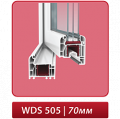 Окна металлопластиковые WDS - 505 – 5-камерная профильная система