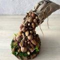 Декор из орехов, украшение для дома