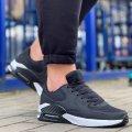 Мужские черные демисезонные кроссовки в стилеNike Air Max90 Размеры 40, 41, 42, 43, 44, 45