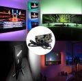 Лента светодиодная RGB 5050 2м с пультом для подсветки телевизора, монитора, мебели от USB