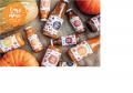 "Pumpkin-orange juice with pulp and sugar, pasteurized ""Pumpkin smoothies""."