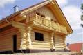 Дома рубленные, будівництво будинку із зруба