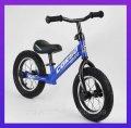 "Беговел велобіг 55408 сталева рама, колеса 12"" надувні гумові"