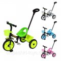 Дитячий триколісний велосипед з батьківською ручкою Tilly MOTION T-320/23,5