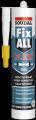 Прозрачный клей-герметик Соудал (Soudal) FIX ALL Crystal 290 мл