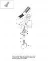 71491738 CNHi Гидравлический ремкомплект педали оригинал екскаватор New Holland MH 3.6 CASE WX125