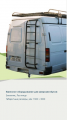Hinged equipment for minibuses