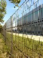 Fences from a galvanized wire (GOST-3282-74), with a polymeric covering