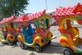 Паровоз на колесах или на рельсах для маленьких детей , а также для взрослых
