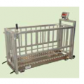 Scales are mobile, mobile (on wheels) for KRS, pigs, animals