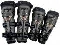 Комплект мотонаколенников и мотоналокотников Scoyco K11H11 Black