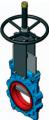 Шиберно-ножевая задвижка двунаправленная межфланцевого типа GL