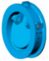 Клапан обратный поворотный межфланцевого типа TD