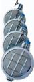 Заслонка поворотная фланцевая/межфланцевая, типа Баттерфляй для газа, воздуха MF