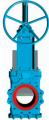Шиберно-ножевая задвижка двунаправленная межфланцевого типа GH