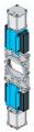 Шиберно-ножевая задвижка двунаправленная межфланцевого типа TD