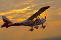 Самолет винтовой сверхлегкий К-10 SWIFT, модель K-10 (01), K-10 (02)  воздушные прогулки
