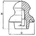 Изолятор низковольтный штыревой фарфоровый TS76