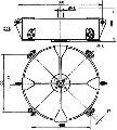 Коромысло четырехцепное 4КД2-25-1с двумя точками крепления