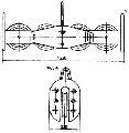 Подвес четырехроликовый П4Р-12-1