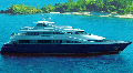 The yacht motor the Scythian 09140 (SKIF) – the 40-meter motor megayacht for the unlimited navigation area, capable to voyazhirovat in rigid sea and ocean areas