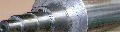 Валы гладкие чугунные и стальные с фланцами и буртами различных конфигураций